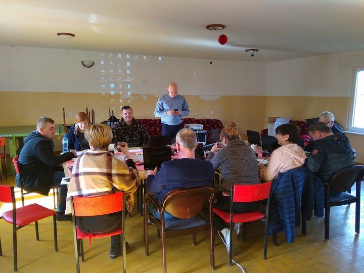 Ilustracja do informacji: Mieszkańcy Szyliny podnoszą swoje kompetencje
