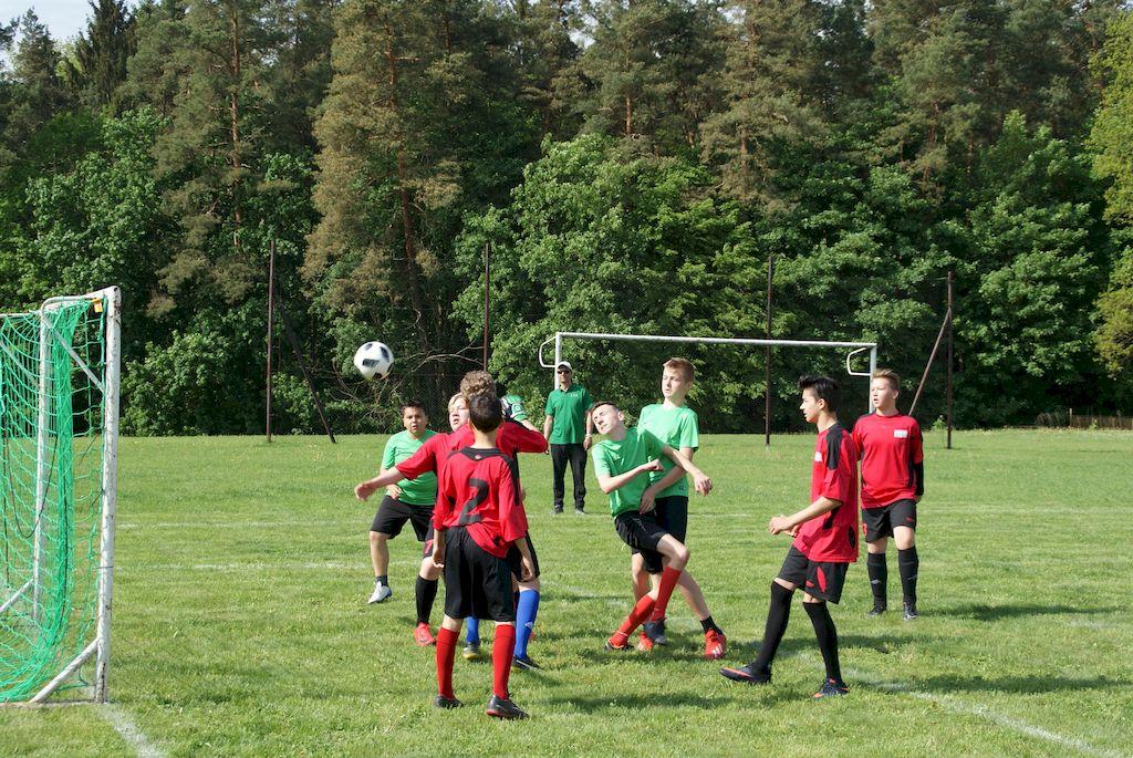 Ilustracja do informacji: Turniej Minipiłki Nożnej