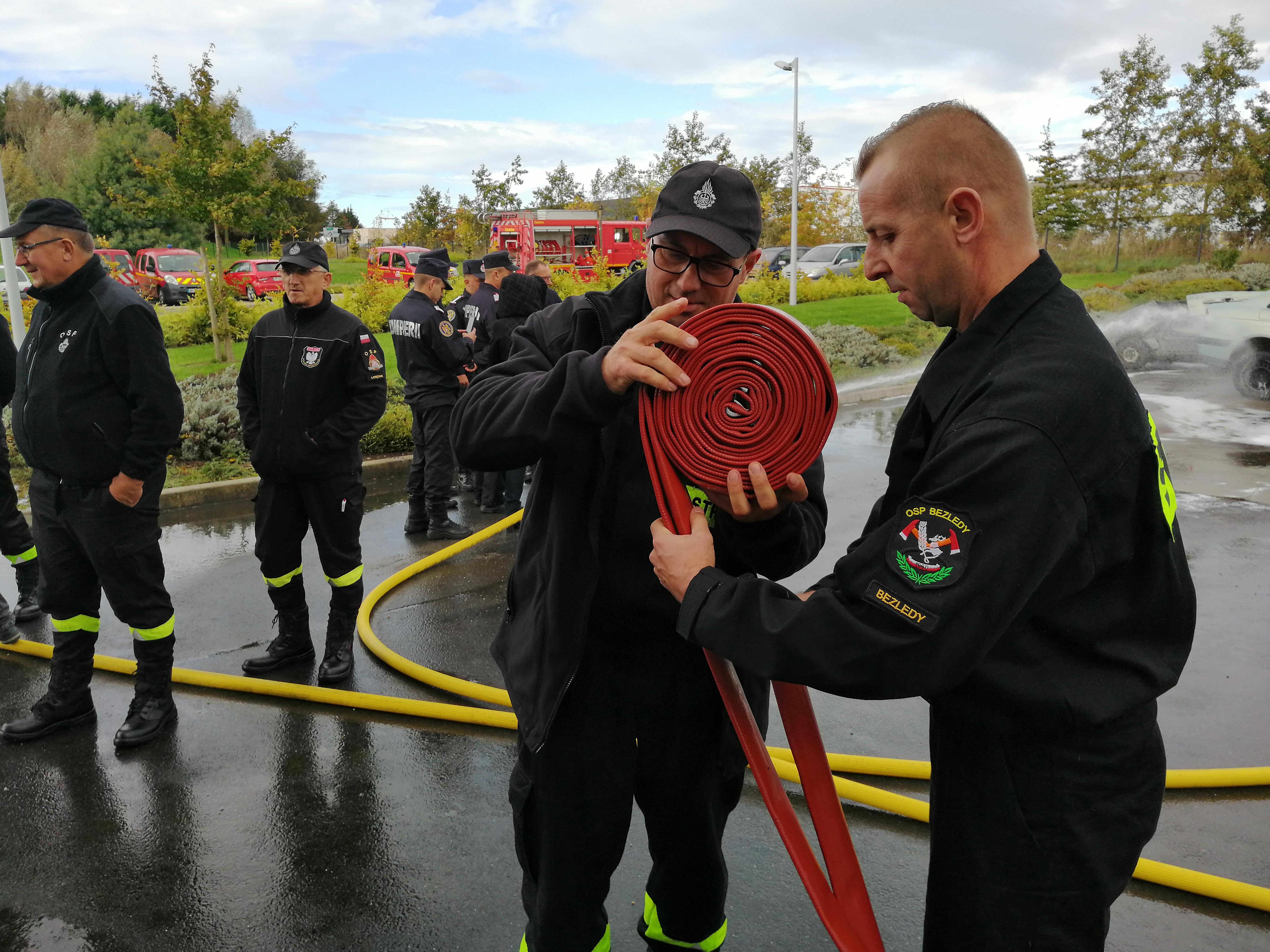 """Ilustracja do informacji: """"Technologie dla strażaków"""" projekt w ramach programu Erasmus +"""