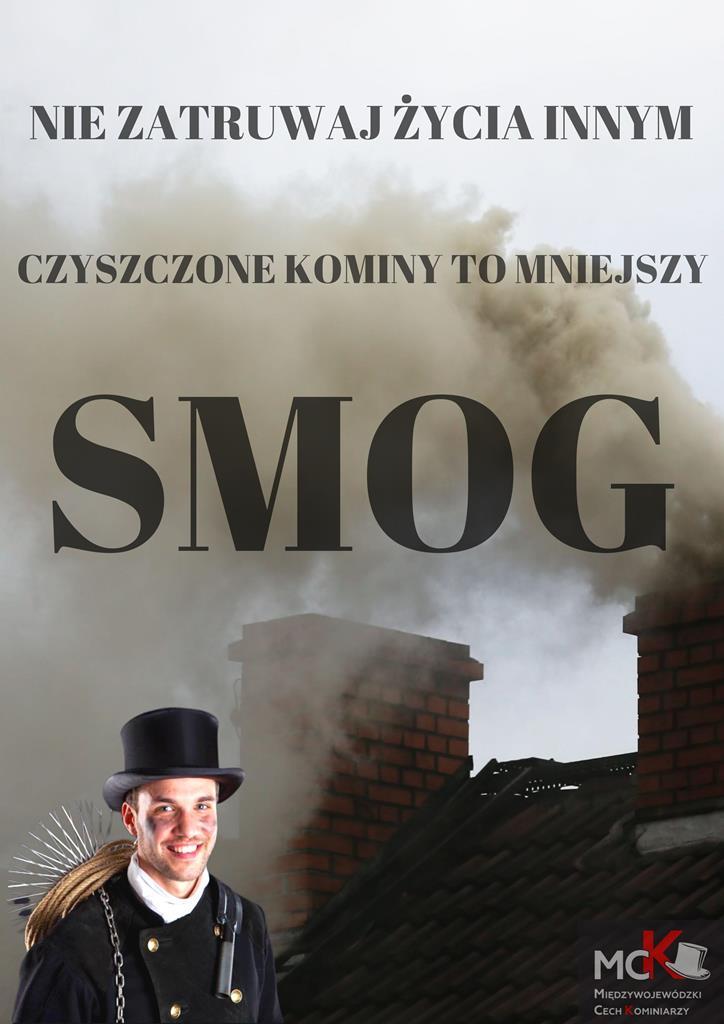 """Ilustracja do informacji: Kampania społeczna """"Czyszczone kominy to mniejszy smog"""""""