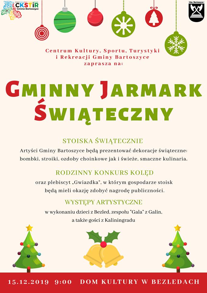 Ilustracja do informacji: Gminny Jarmark Świąteczny