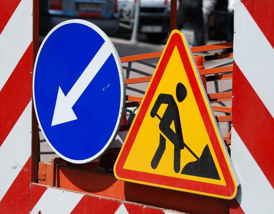 Ilustracja do informacji: Pozimowa naprawa dróg