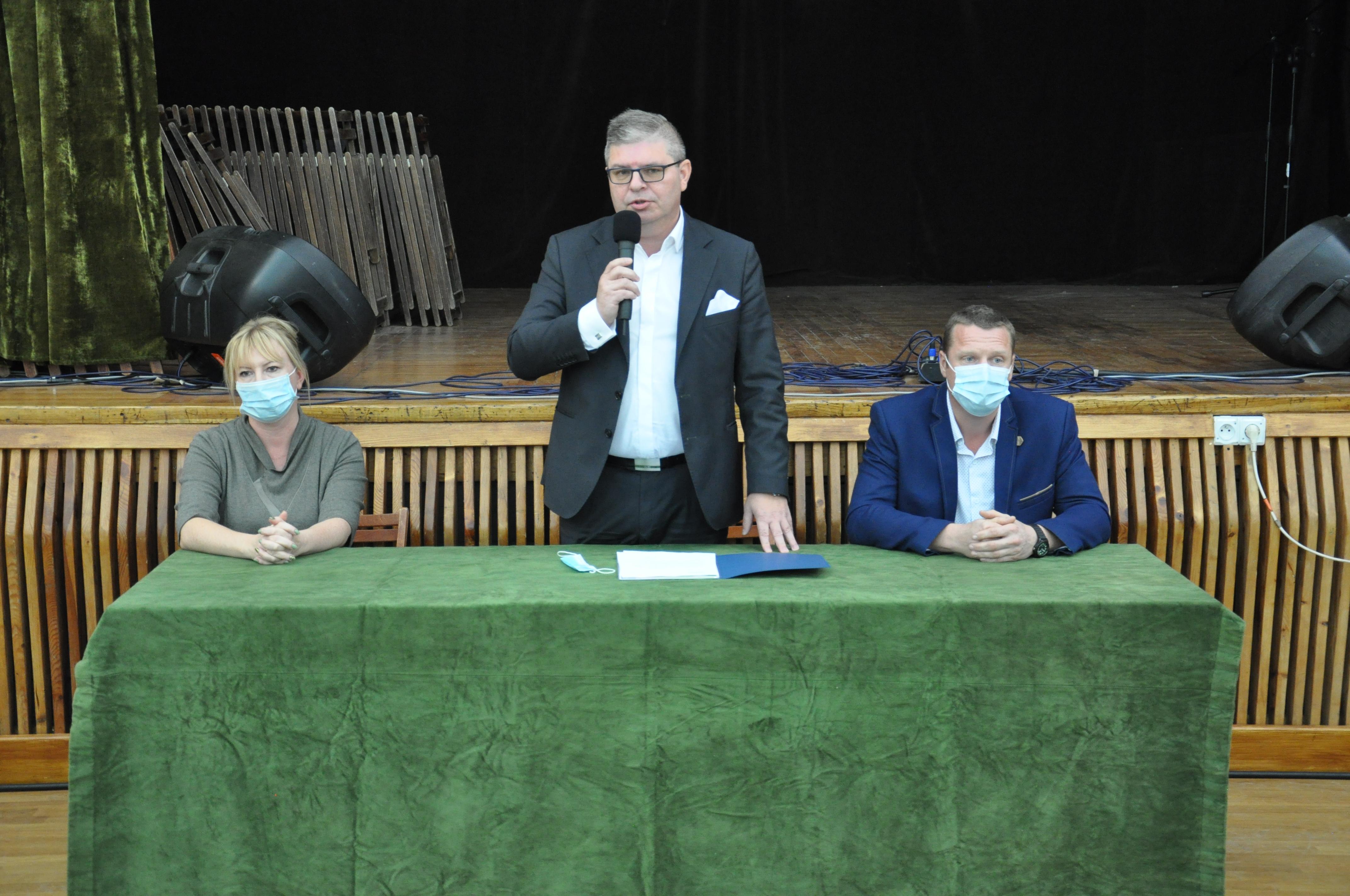 Ilustracja do informacji: Spotkanie Wójta Gminy Bartoszyce z Sołtysami