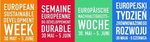 Ilustracja do informacji: Europejski Tydzień Zrównoważonego Rozwoju