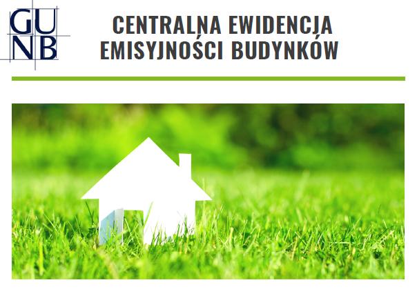 Ilustracja do informacji: Centralna Ewidencja Emisyjności Budynków